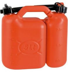Bidon antivuelco doble 1014-05l+2,5l de maiol