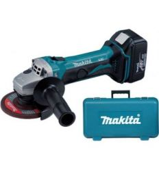 Amoladora mini dga-452-rme 18v litio de makita
