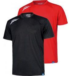 Camiseta m/corta s6611 negro t-m de workteam