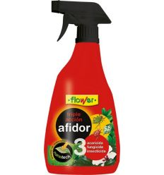 Afidor triple accion 30614 500ml spray de flower caja de 24