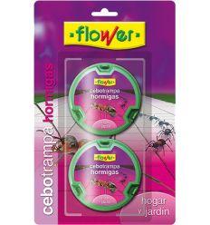 Antihormigas cebo trampa 20536 2x10gr bl de flower caja de 30