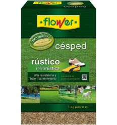 Semillas cesped rustico 10788 1kg de flower caja de 10 unidades