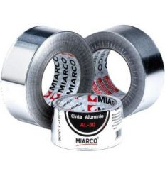 Cinta aluminio al-30 50mmx50m de miarco