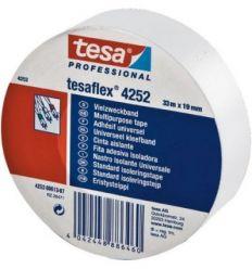 Cinta aislante 04252-33mx25mm blanca de tesa-tape caja de 8