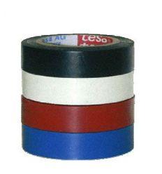 Cinta aislante 05489-10mx19mm gris de tesa-tape caja de 10