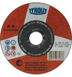 Disco 41x a46bf.inox 125x1,6x22,2 stand de tyrolit caja de 25