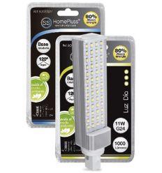 Lampara pl led g24 11w 6000k 230v de marca caja de 5 unidades