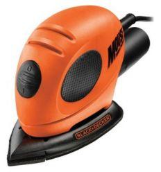 Lijadora mouse ka161-qs 55w 230v de black & decker