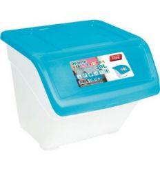 Contenedor 416590 30l 392x399x330 t/azul de tayg