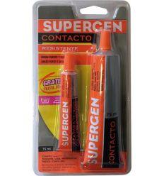 Supergen 62600-18 75ml+adh.textil 20ml de supergen caja de 12