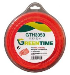 Hilo helicoidal gth3015 3,00mmx15m de green time