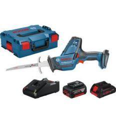 Conjunto sierra gsa18v-li+l-boxx+1b 4ah+cargador de bosch construccion / industria