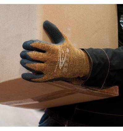 Guante latex flexicotton forro algodón talla-10 de cofra caja de 12 unidades