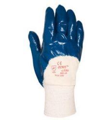 Guante nitrilo 9901 talla-09/m azul de juba caja de 6 unidades