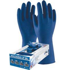 Guante latex desechable libre polvo blue 1300 tl c-50 de 3l