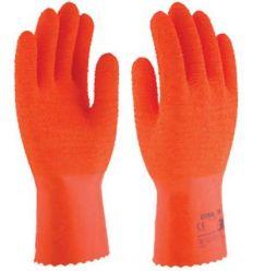 Guante latex natural algodón coral30 sl430 t09 de 3l caja de 12 unidades