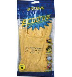 Guante flor vacuno b406vr2ª talla-09 amarillo de juba caja de 12 unidades