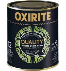Oxirite quality liso 6117203 750ml negro de oxirite caja de 6 unidades