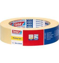 Cinta krepp 04323-50mx19mm de tesa-tape caja de 16 unidades