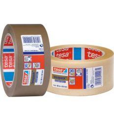 Cinta precinto 04100-066x50 marron de tesa-tape caja de 36 unidades