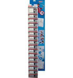 Clavo adhesivo 77772 sms pared pintada 0,5k 32u de tesa-tape