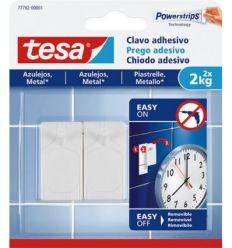 Clavo adhesivo 77762 sms azulejos sujección 2,0kg de tesa-tape caja de 8 unidades