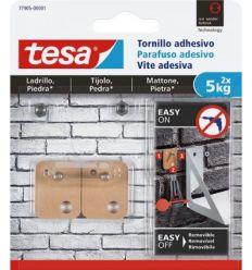 Tornillo adhesivo cuadrado 77905 sms piedra sujección 5kg de tesa-tape caja de 6 unidades