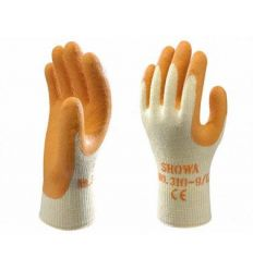 Guante caucho showa 310n talla-09 naranja de starter caja de 10 unidades