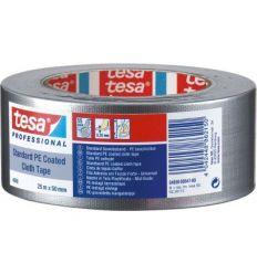 Cinta americana gaffer 04688-25mx50mm plata de tesa-tape caja de 5 unidades