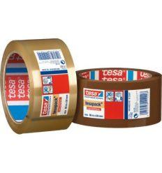 Cinta precinto 4024-66mx50mm marron de tesa-tape caja de 6 unidades