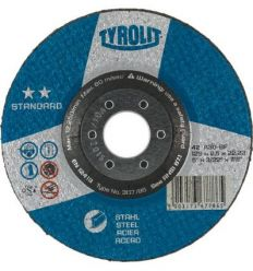 Disco 42x a30-bf 115x2,5x22x2 standard de tyrolit caja de 25 unidades