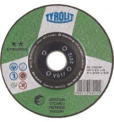 Disco 42x c30-bf 115x2,5x22,2 standard de tyrolit caja de 25 unidades