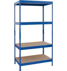 Kit 4 estanterías stabil 175 176x80x40 azul de ar
