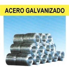 Alambre galvanizado ø1,80mm (nº12) 25kg de frigerio