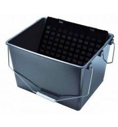 Cubeta plastico 16l 13231 eco + rej.plast. de pentrilo