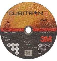 Disco corte cubitron a/i65456 180x1,6x22 de 3m caja de 25 unidades
