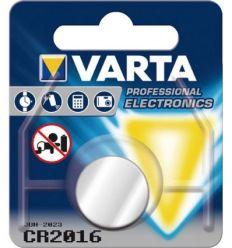Pila boton litio cr2016 3v varta de varta caja de 10 unidades