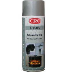 Spray pintura anticolérica aluminio 650ºc 400ml de c.r.c. caja de 6 unidades