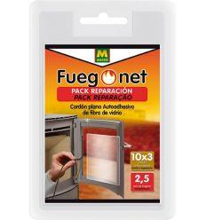 Cordón plano autoadhesivo 231331 10x3mm de fuego net