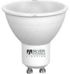 Lampara eco 1460 multi-led gu10 7w 6000k de silver sanz caja de 10 unidades