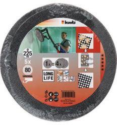 Disco lija ø225mm g120 bl5 de einhell