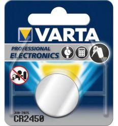 Pila boton litio cr2450 3v varta de varta caja de 10 unidades