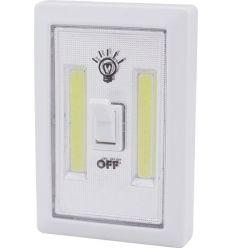 Luz armario led cob 1w 4xr03 con interruptor de marca caja de 12 unidades