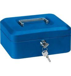 Caja caudal llave + bandeja 152x115x80 rojo de arregui