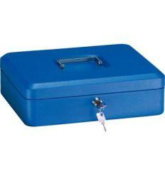 Caja caudal llave + bandeja 300x240x90 azul de arregui