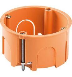 Caja 3255 empotrar pladur ø68x45 con garra de famatel caja de 10 unidades