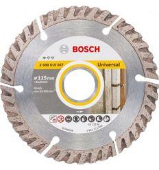Disco diamante standard universal 115x22 de bosch construccion / industria