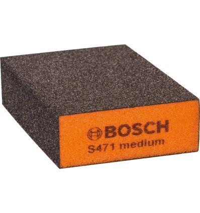 Taco lija bloque medio 69x97x26mm de bosch construccion / industria