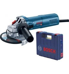 Amoladora mini gws 9-115s 900w 115mm + maletin de bosch construccion / industria
