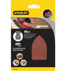 Accesorio sta31004xj 5 lijas perforada mouse g-080 de stanley